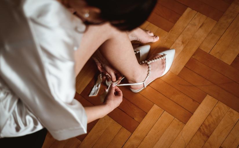 Płaskie buty ślubne? Wchodzę wto!